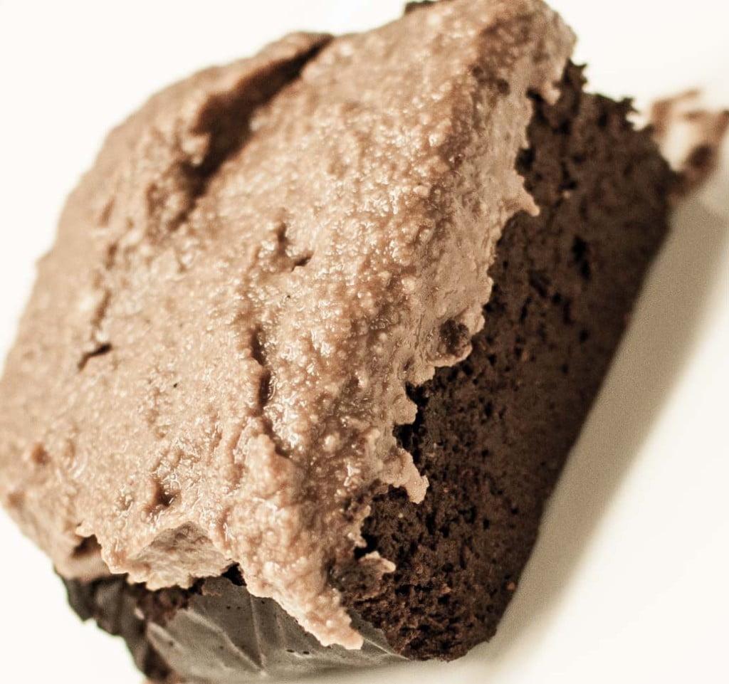 brownies, søtpotet, avokado