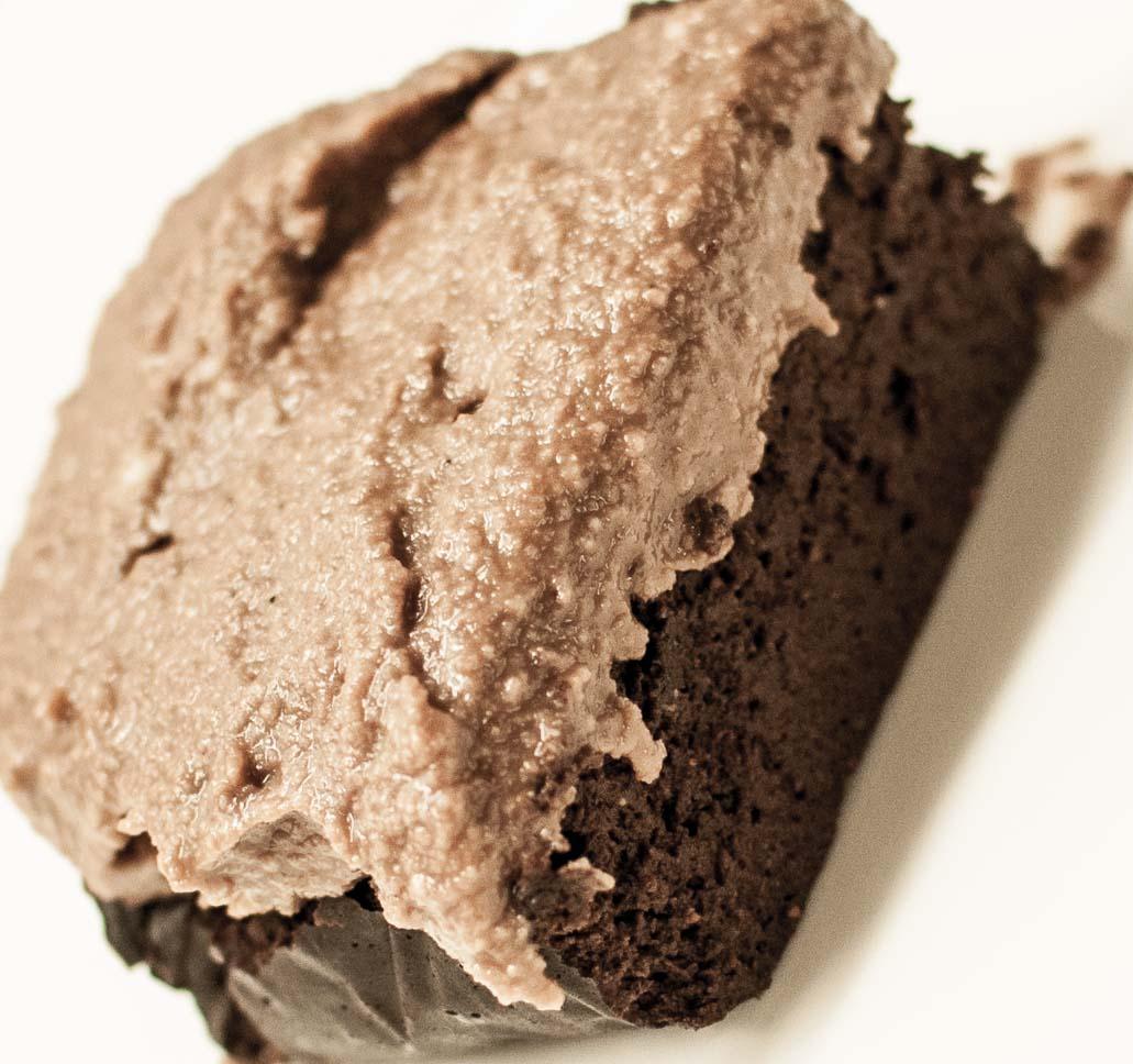 Brownies basert på søtpotet og avokado