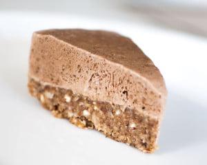 kald kake med mokkamousse