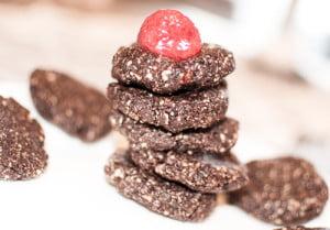 Rå sjokoladekjeks (krever ingen steking)