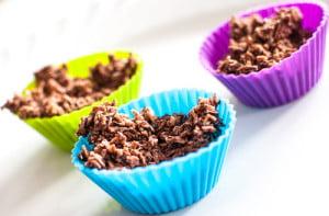 Sjokolade-høystakk