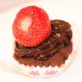 cupcakes med sjokoladefrosting