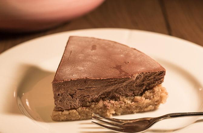 sjokoladekake med mandelmel